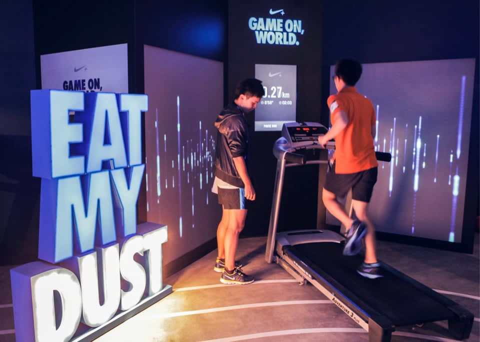 Nike Game-On World Pop-Up Store