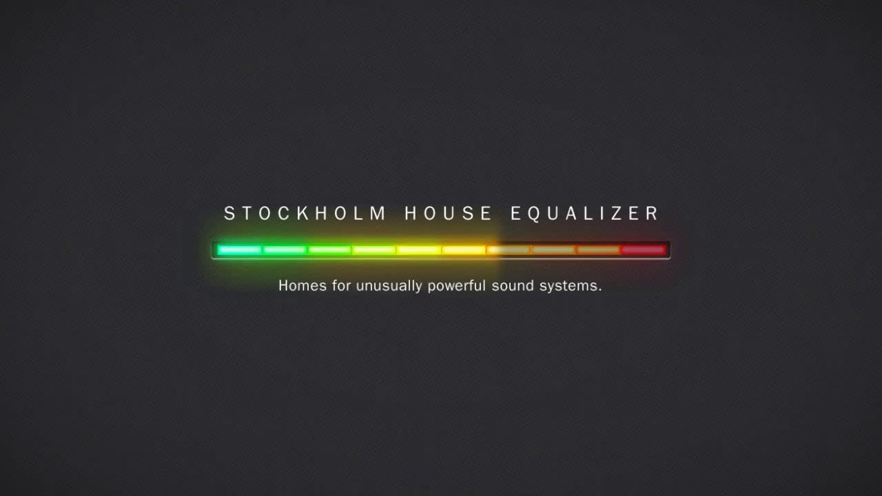 Pause Stockholm House Equalizer