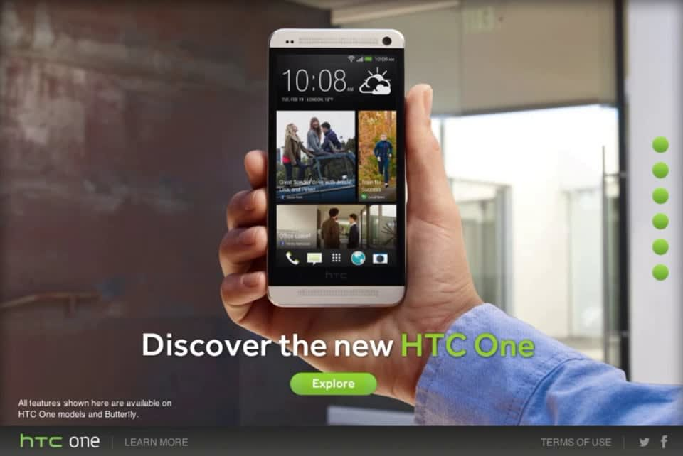 HTC One Global Launch