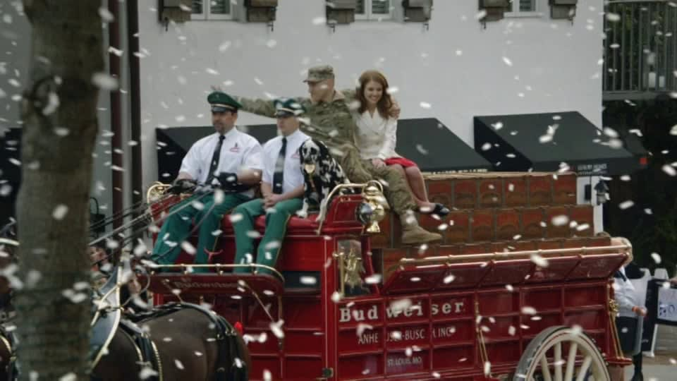 """Budweiser Superbowl """"A Hero's Welcome"""""""
