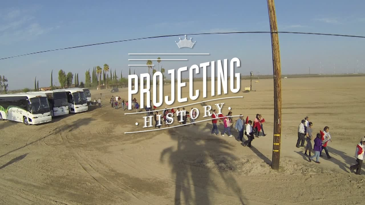 Projecting History