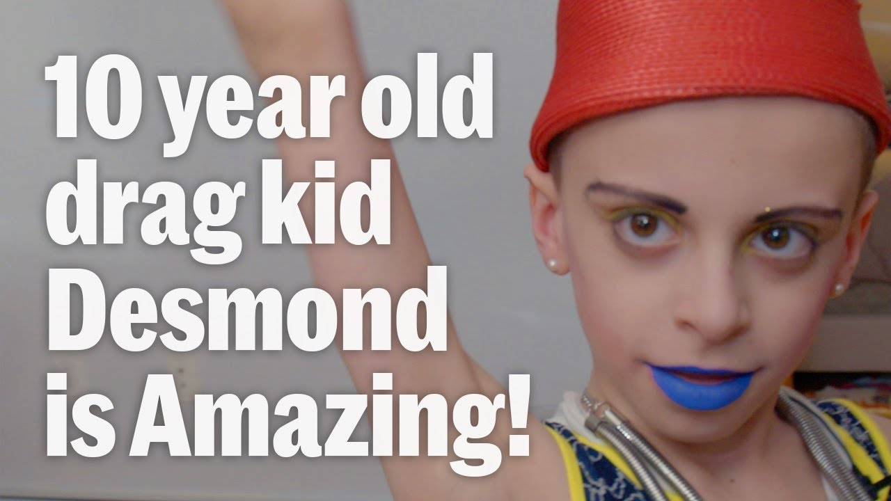 Drag Kid Desmond is Amazing is a ten-year-old aspiring Drag Queen