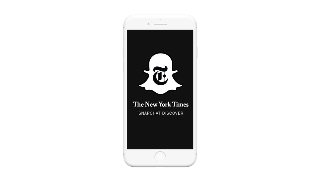 The New York Times Snapchat Discover
