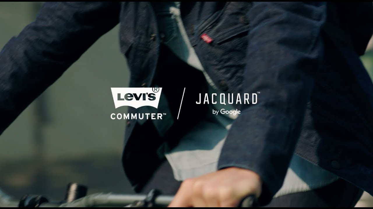 Levi's® Commuter Trucker Jacket with Jacquard by Google