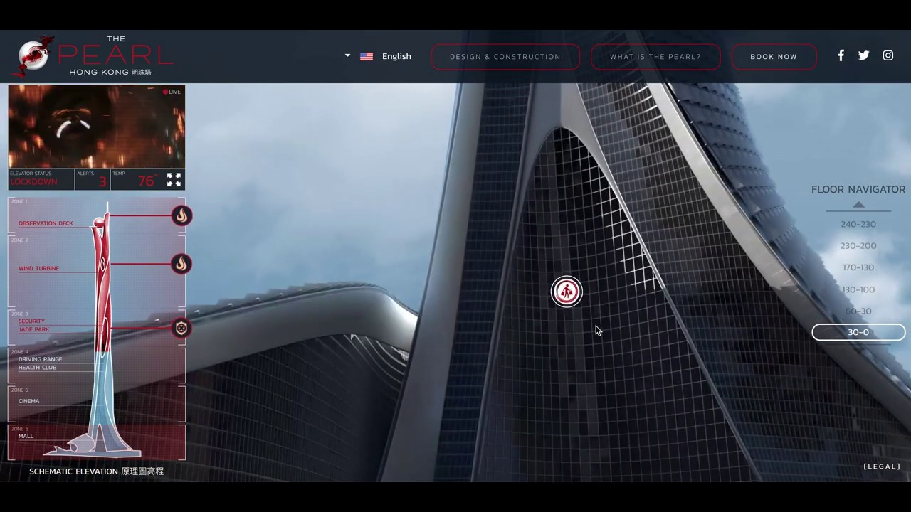 Universal's Skyscraper - Microsite + Social