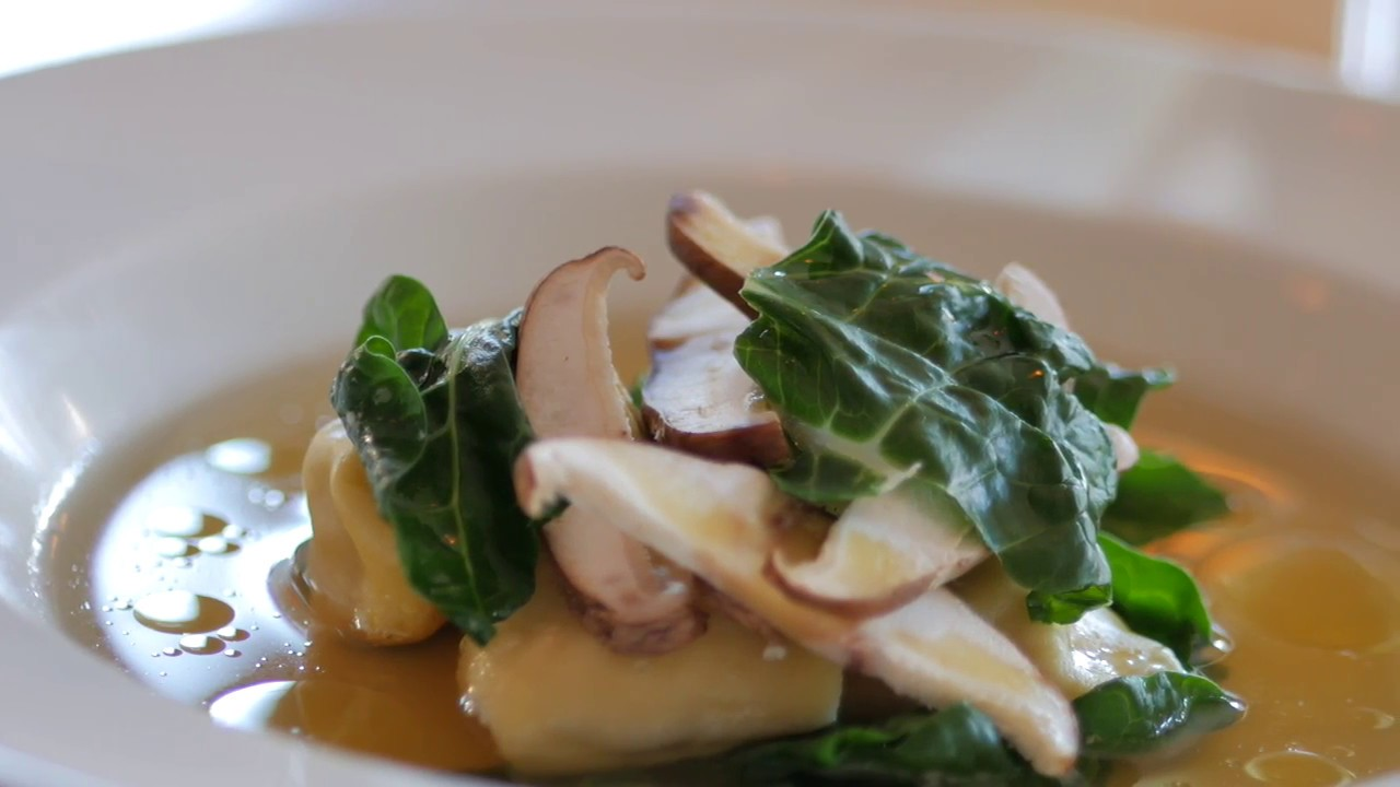 Le Fond's Recipe for Chicken Tortellini with Consommé