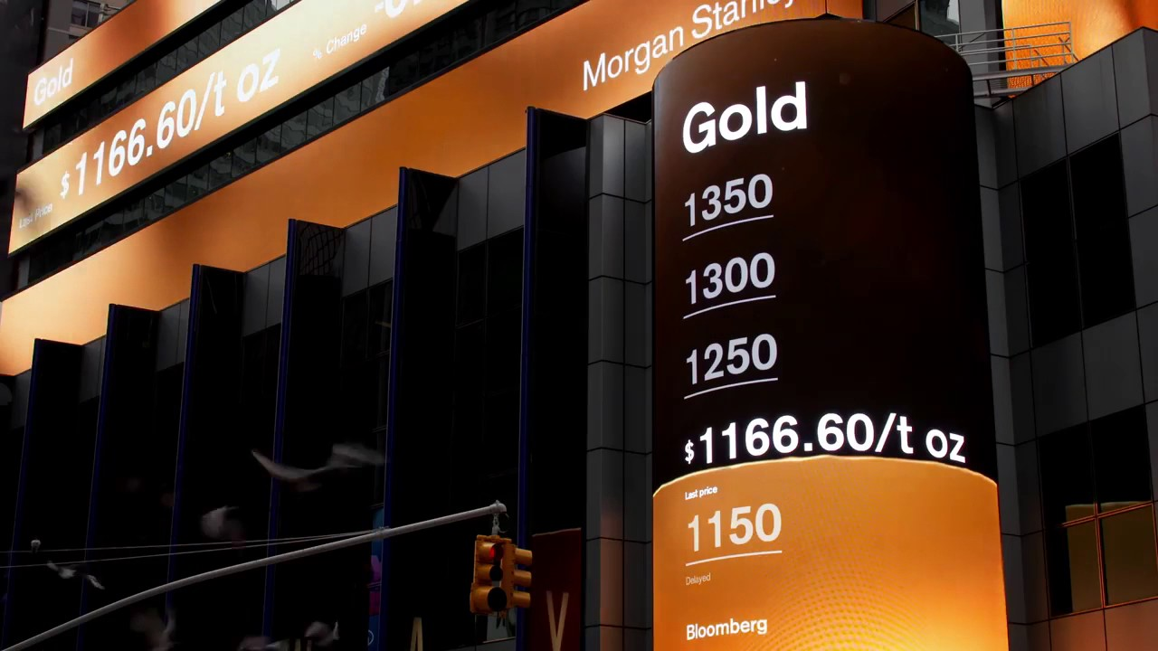Morgan Stanley Digital Signage