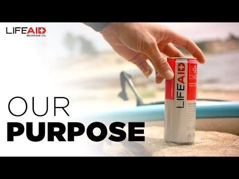 LIFEAID Beverage Company | Our Purpose