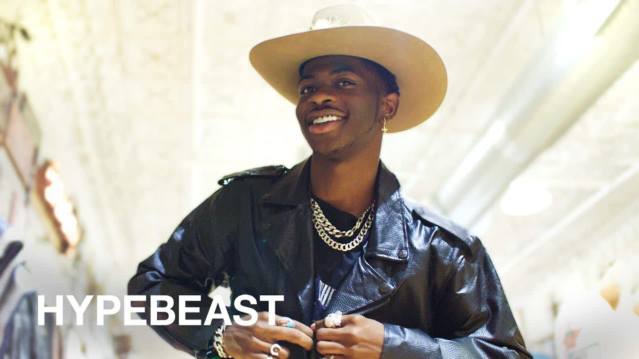 Lil Nas X Goes Shopping with HYPEBEAST
