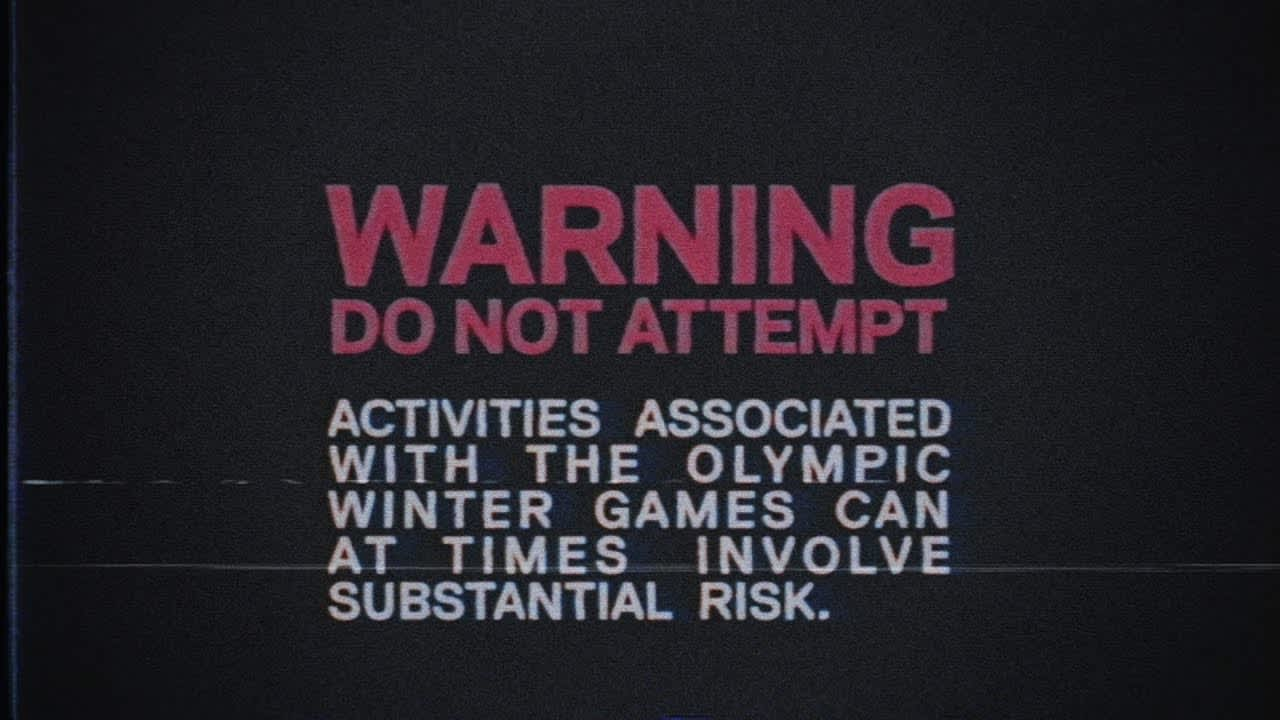 Sportchek Winter Olympics - Warning - Do Not Attempt