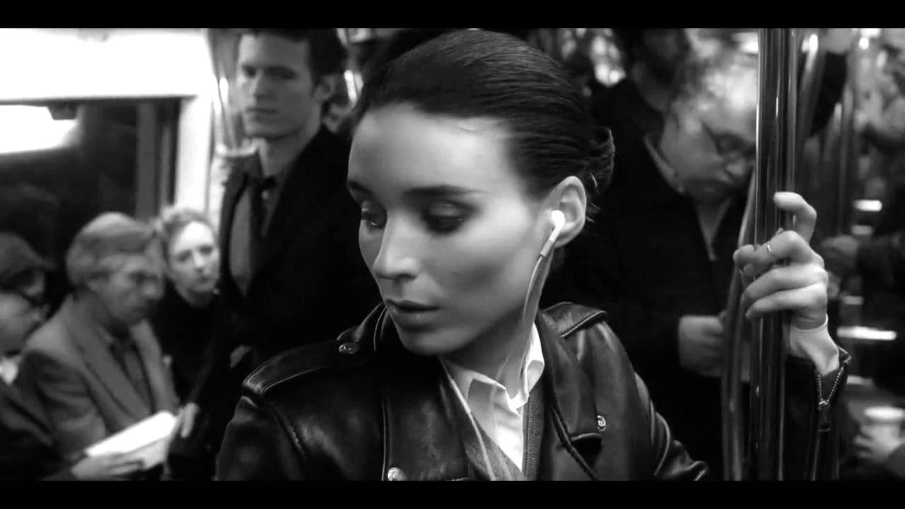 Calvin Klein Downtown, with Rooney Mara - directed by David Fincher