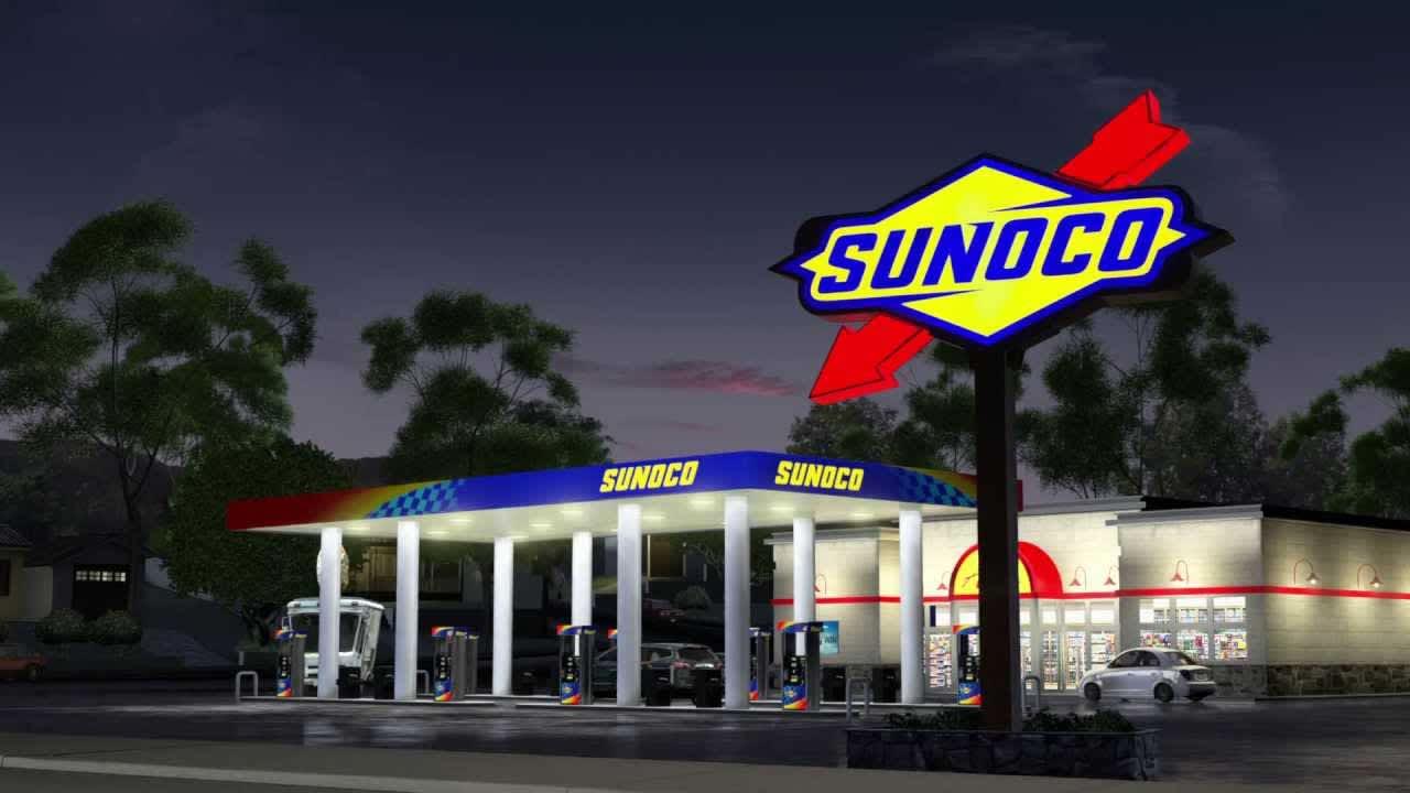Sunoco Free Fuel 5000 TV