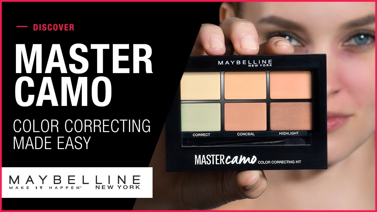 MAYBELLINE MASTER CAMO LAUNCH