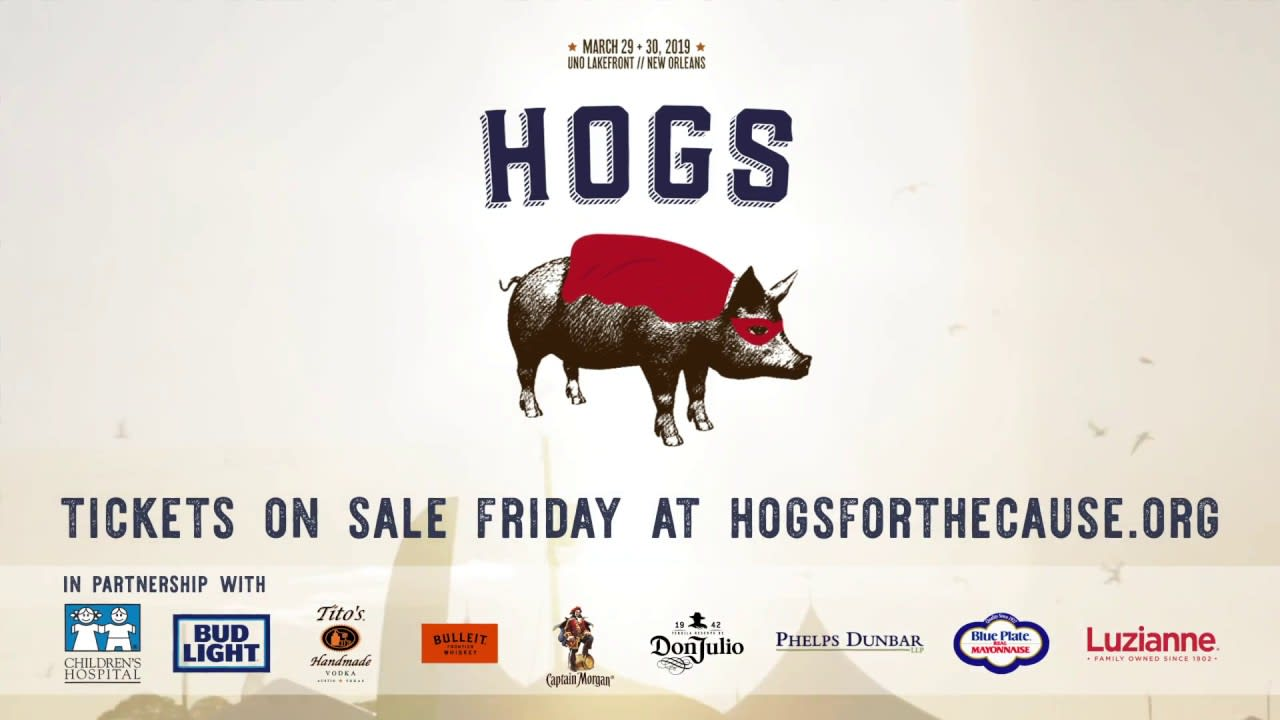 Hogs for the Cause 2019 Lineup Announcement