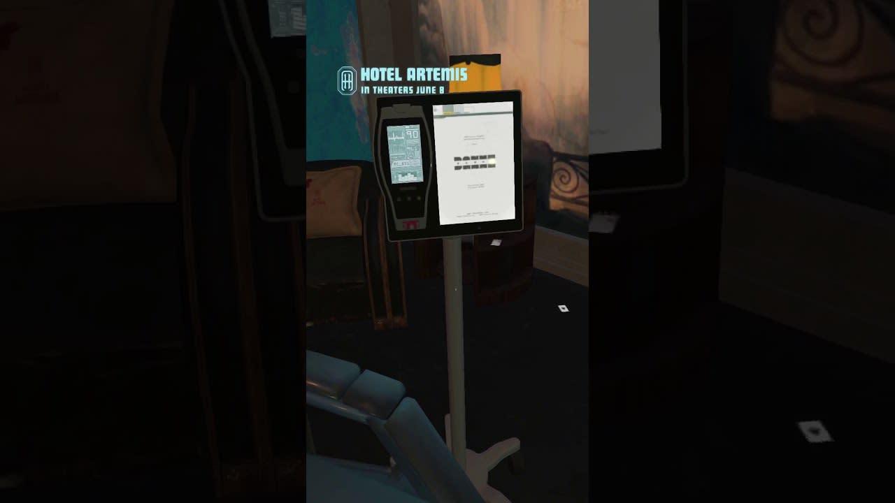 Hotel Artemis VR/AR