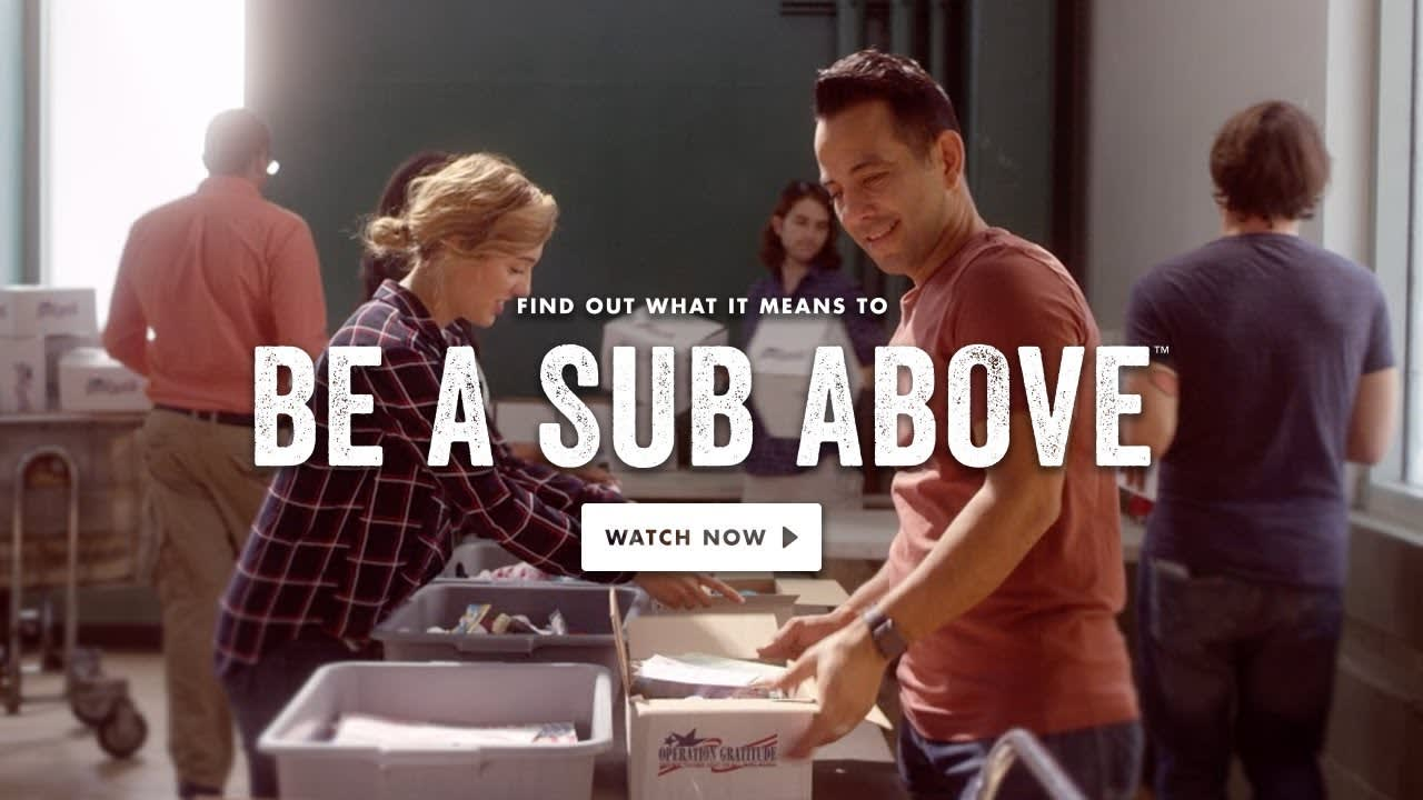 Jersey Mike's: Be A Sub Above Campaign