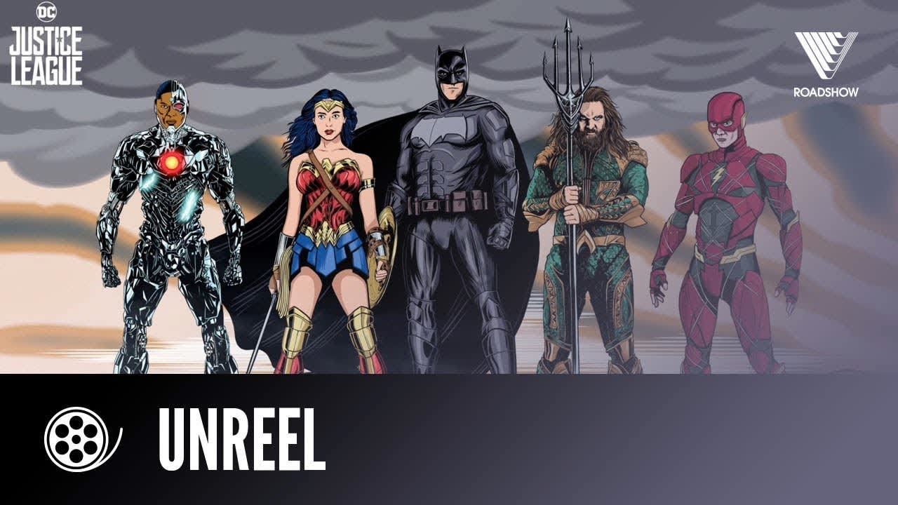 JUSTICE LEAGUE | Then And Now