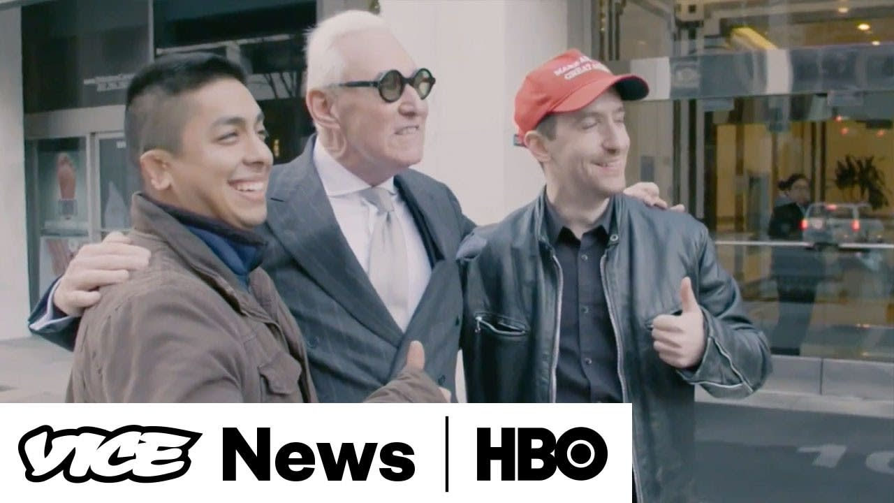 Vice News Tonight: Roger Stone and the Deploraball