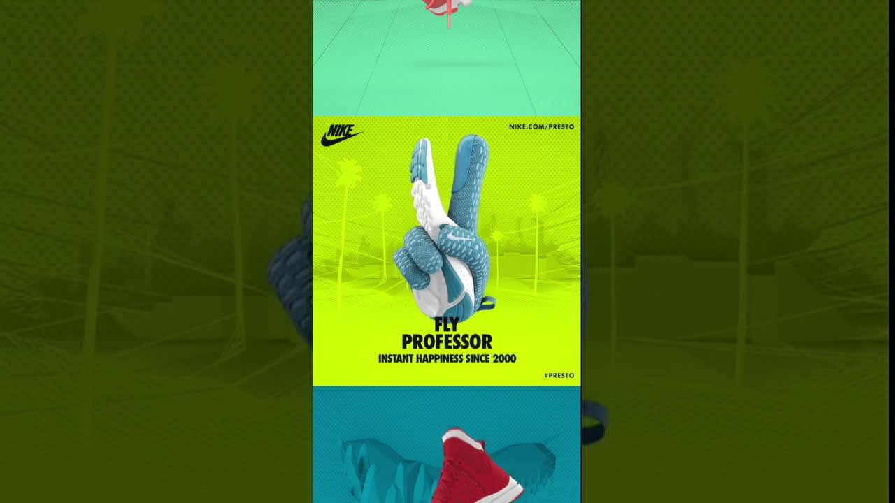 Nike's Spread Instant Happiness