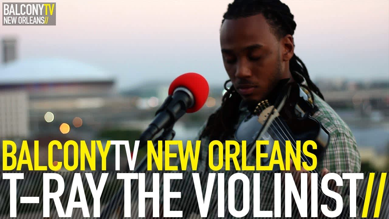T RAY THE VIOLINIST - OWN LANE (BalconyTV)