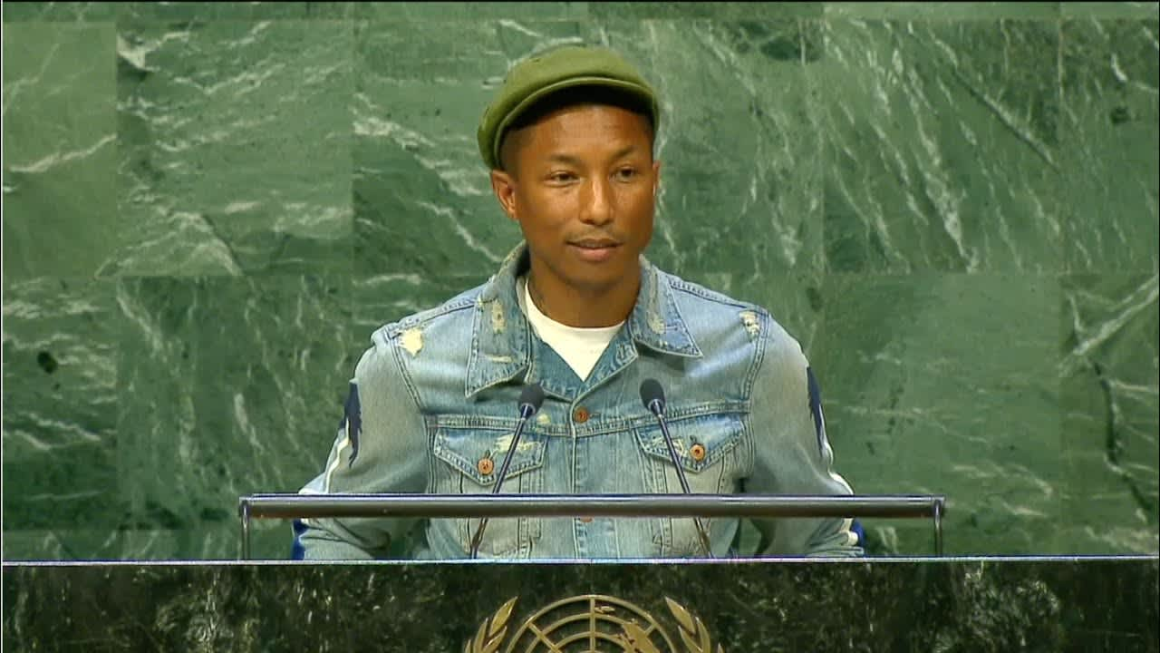 United Nations x Pharrell Williams International Day of Happiness