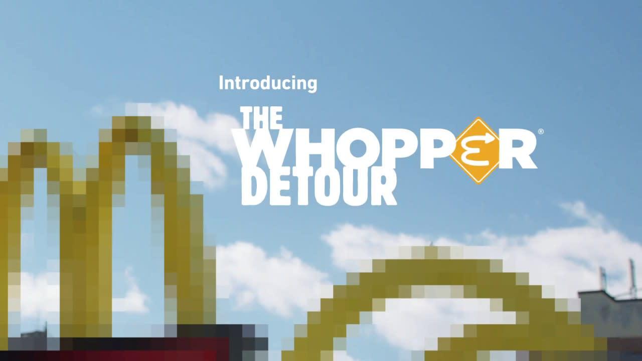 Burger King - The Whopper Detour