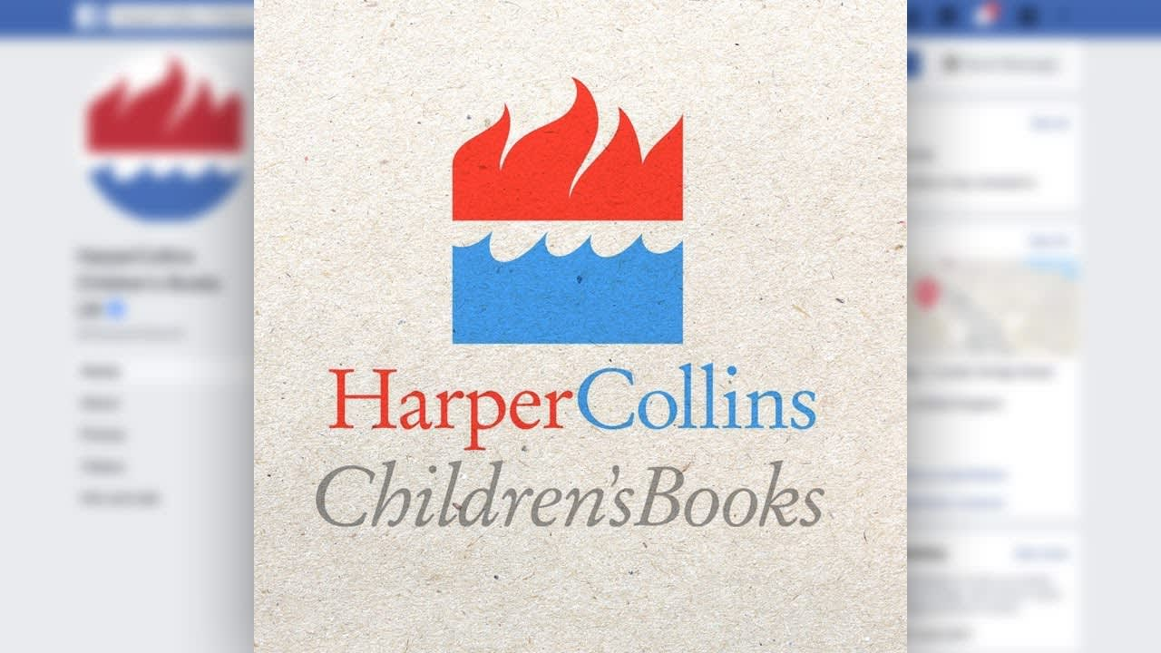 Animation - HarperCollins book cover animations