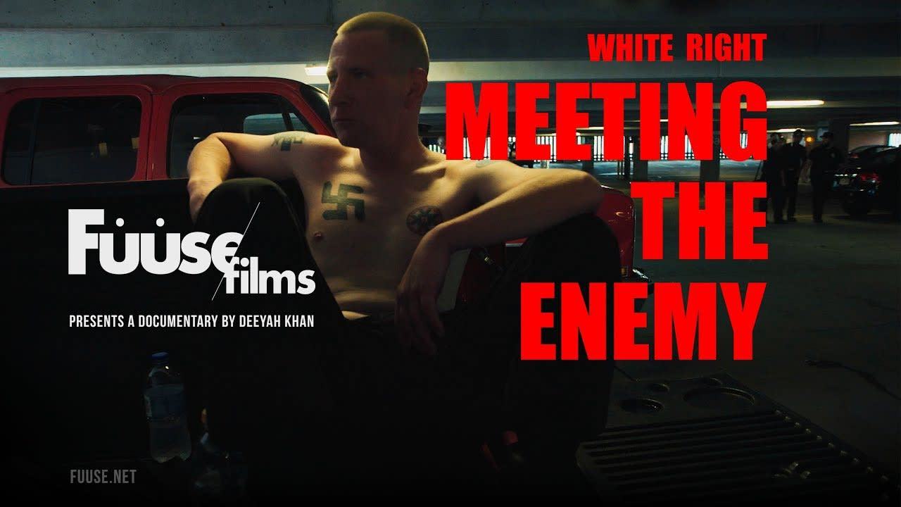"""WHITE RIGHT: MEETING THE ENEMY"" Film Logo & Identity"