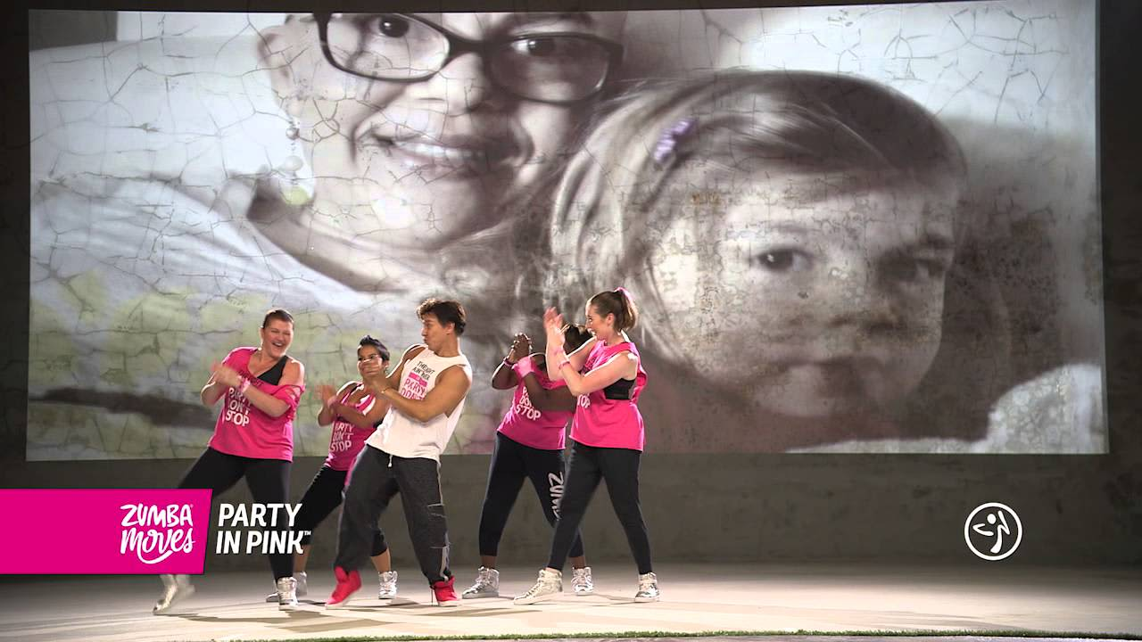 Zumba Moves Party in Pink