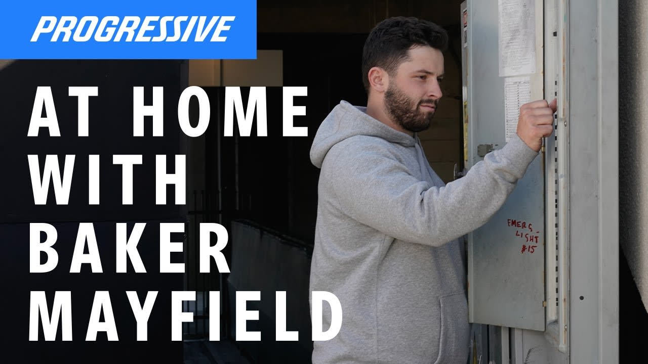 Baker Mayfield vs The Circuit Breaker | Progressive Commercial
