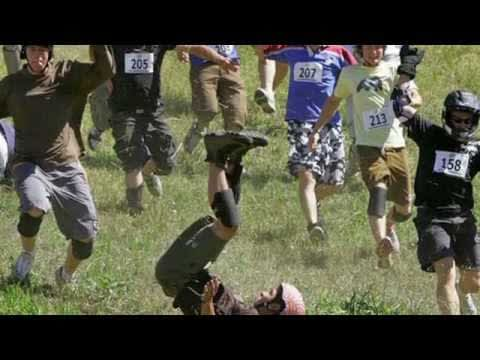 CANADIAN CHEESE ROLLING