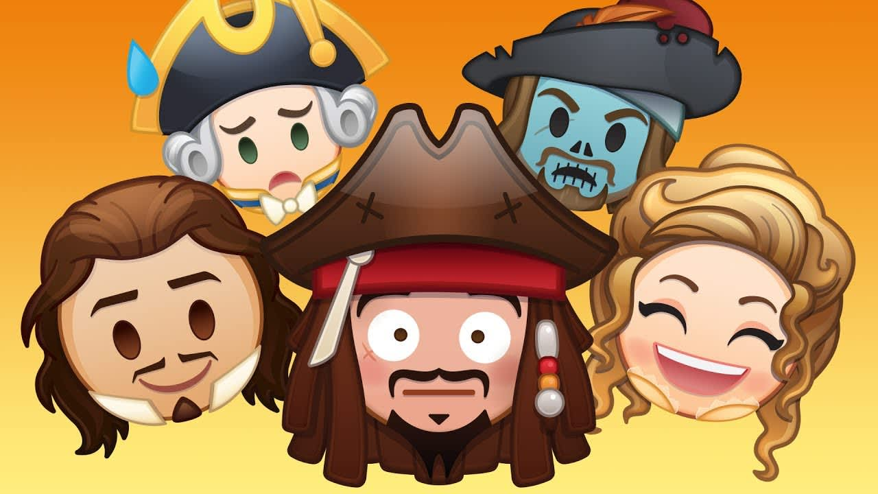 """Disney's """"AsTold By Emoji""""  Pirates of the Caribbean"""