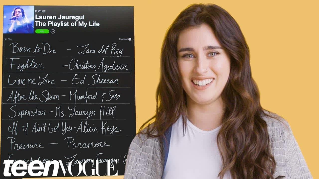 Lauren Jauregui Creates the Playlist to Her Life
