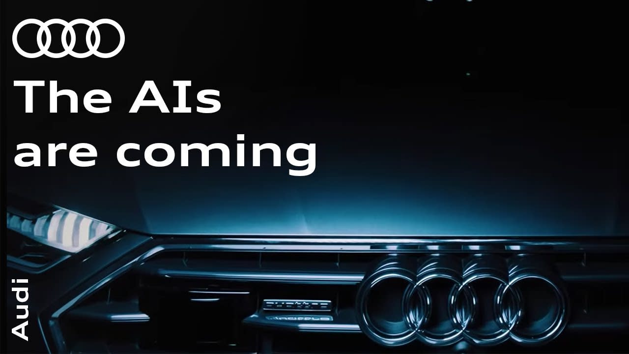 """Audi """"The AI's Are Coming"""""""