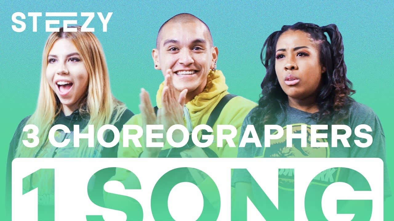 3 Dancers Choreograph To The Same Song