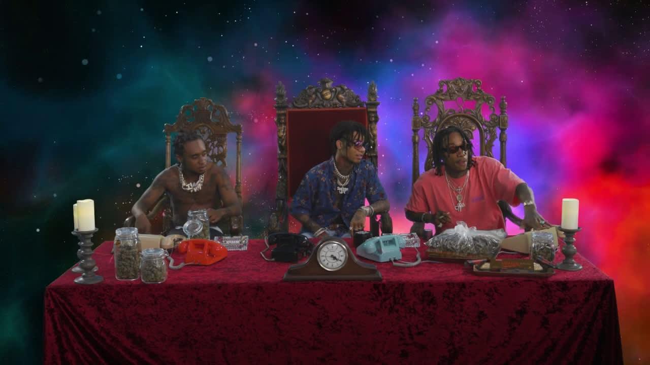 Wiz Khalifa and Rae Sremmurd's Dazed & Blazed Hotline