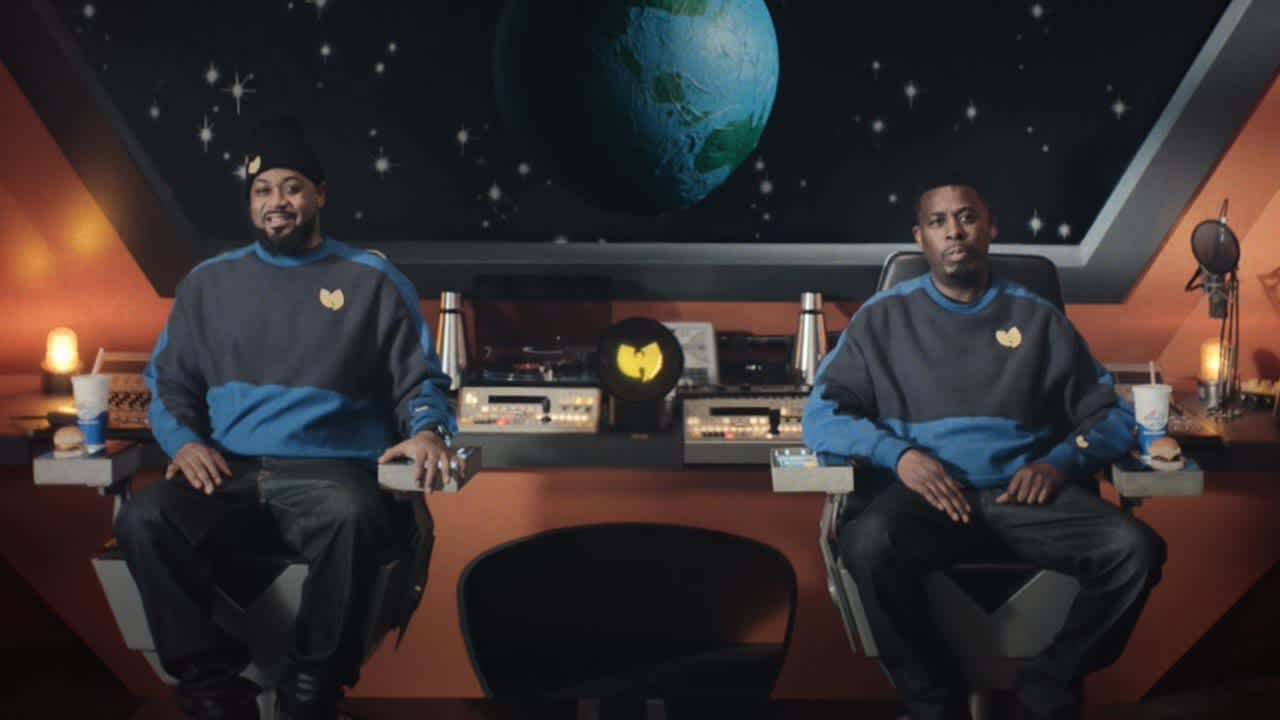 Wu-Tang In Space Eating Impossible Sliders