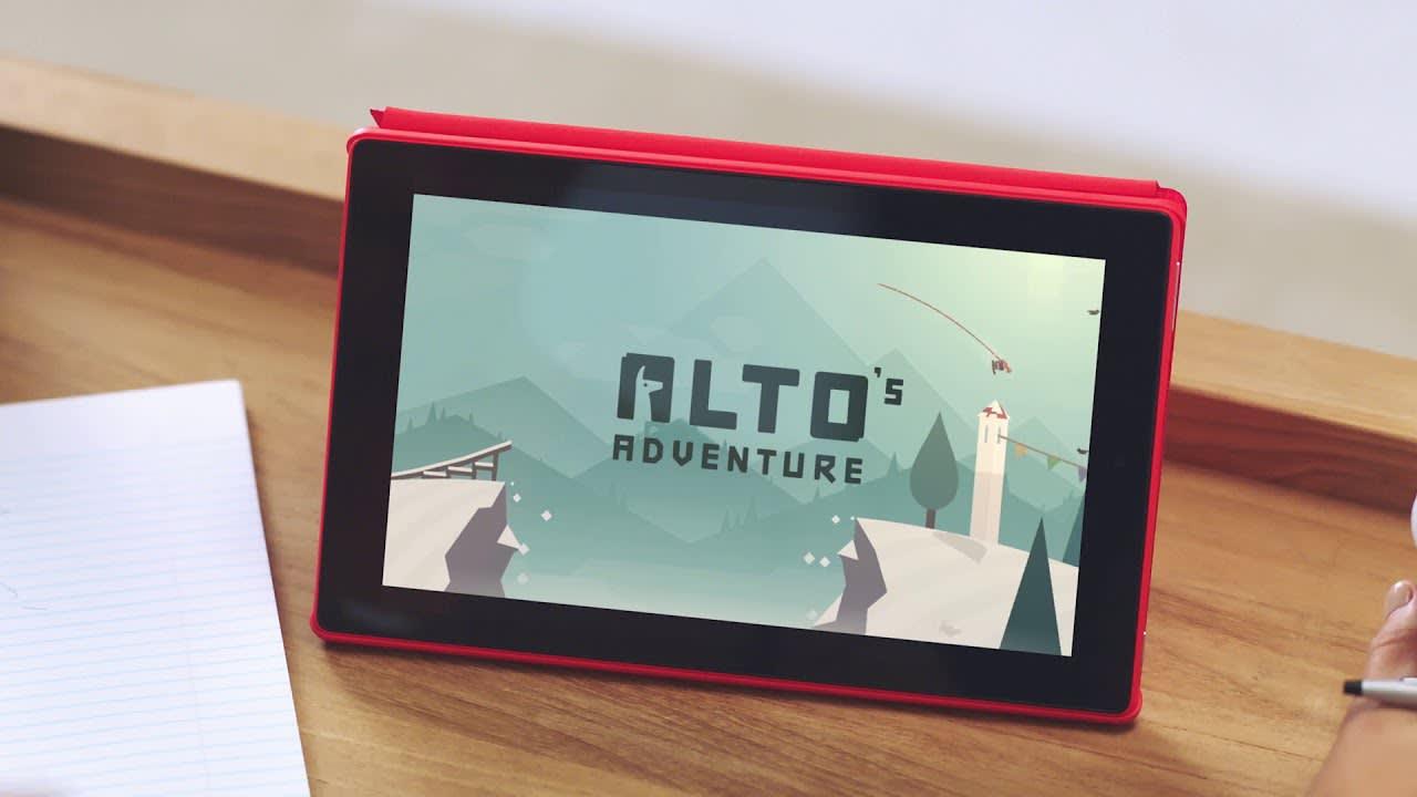 Fire HD 10 Launch Video