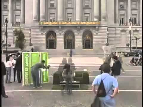 """PG&E """"Let's Green This City"""" Experiential Installations, PR and Social Amplification"""