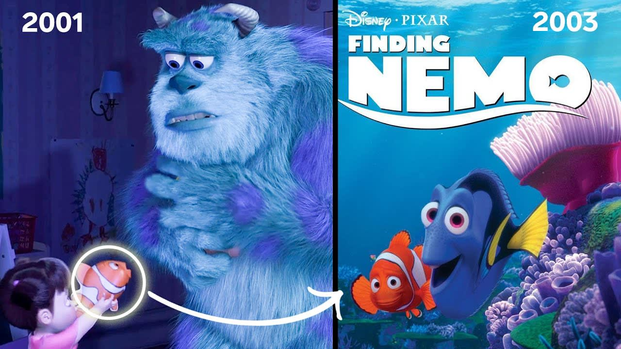 WIRED Each and Every Easter Egg for Future Pixar Films Episode