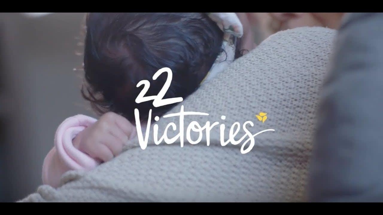 Medela Breast Pumps: 22 Victories Campaign