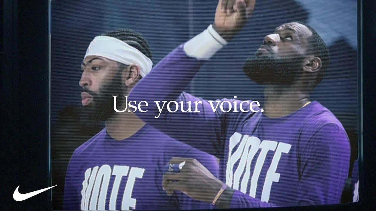 Nike - You Can't Stop Our Voice