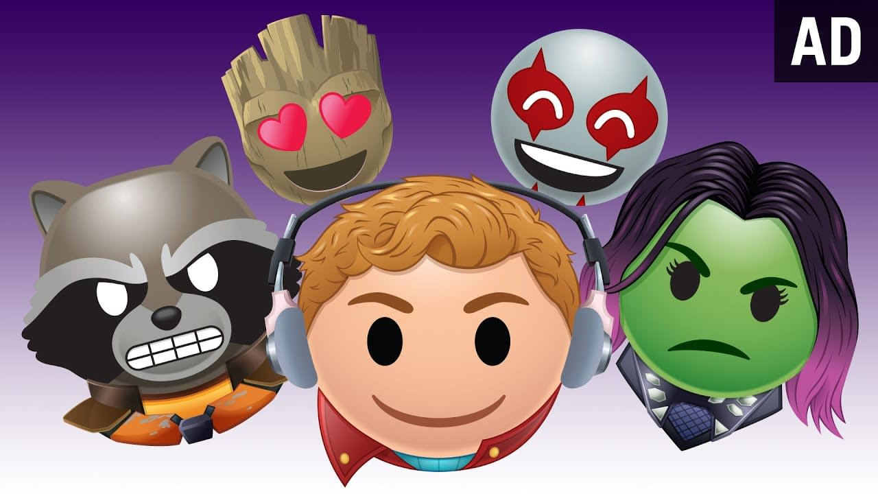 """Disney's """"As Told By Emoji""""  Guardians of the Galaxy"""