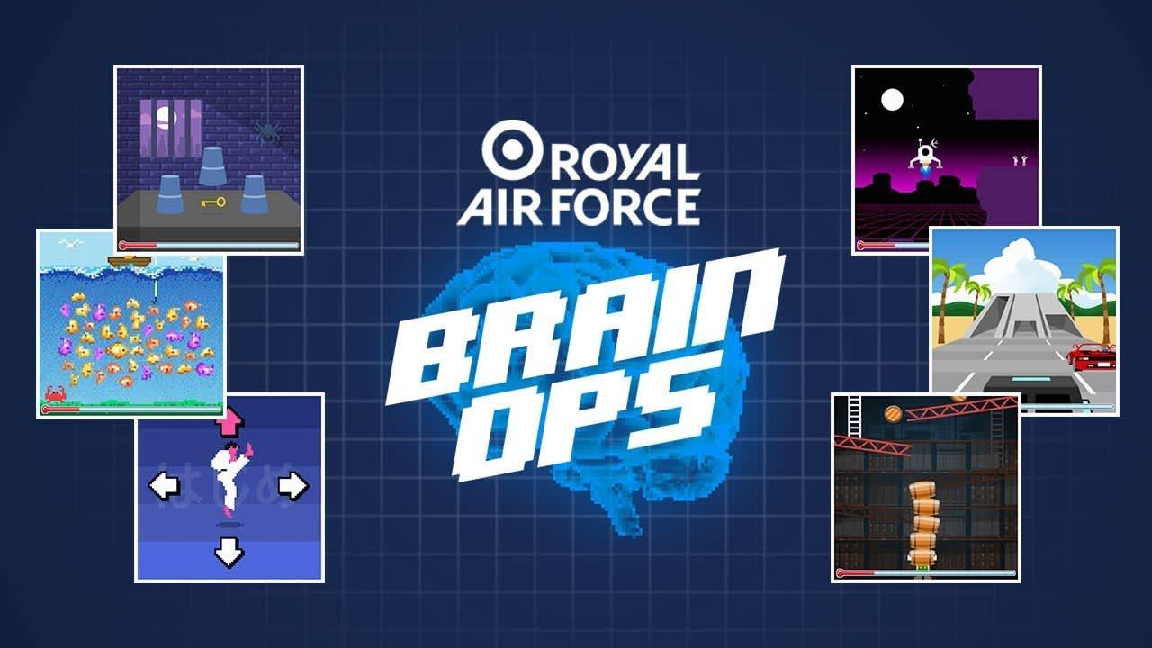 Game - Royal Air Force: Brain Ops