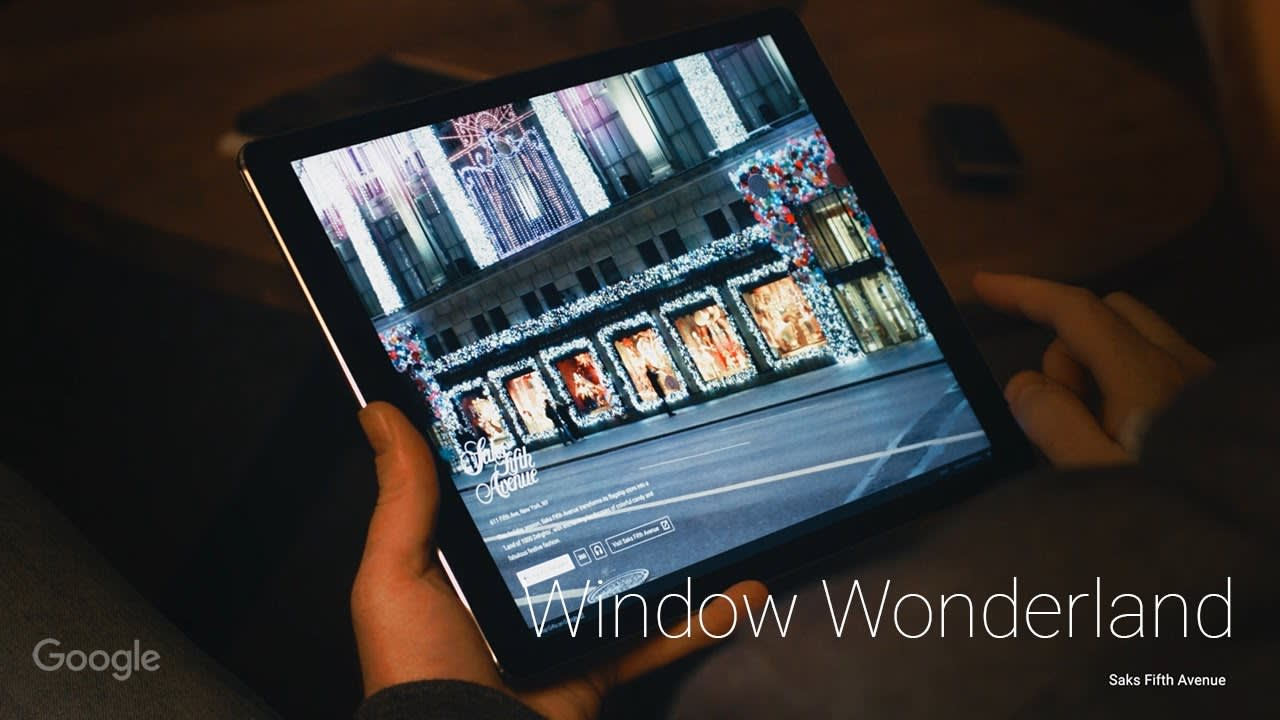 "Google ""Window Wonderland"""