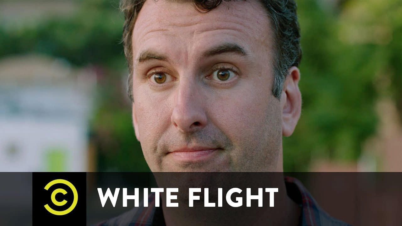 """Comedy Central """"White Flight"""" series"""