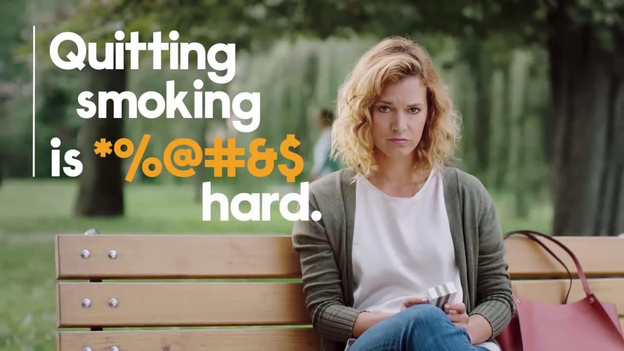 Quitting Smoking is *%@#&$ Hard.