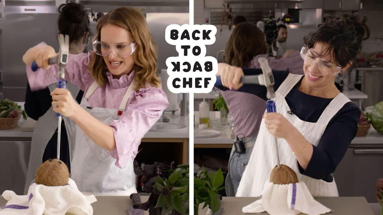 Natalie Portman | Back-to-Back Chef | Bon Appétit