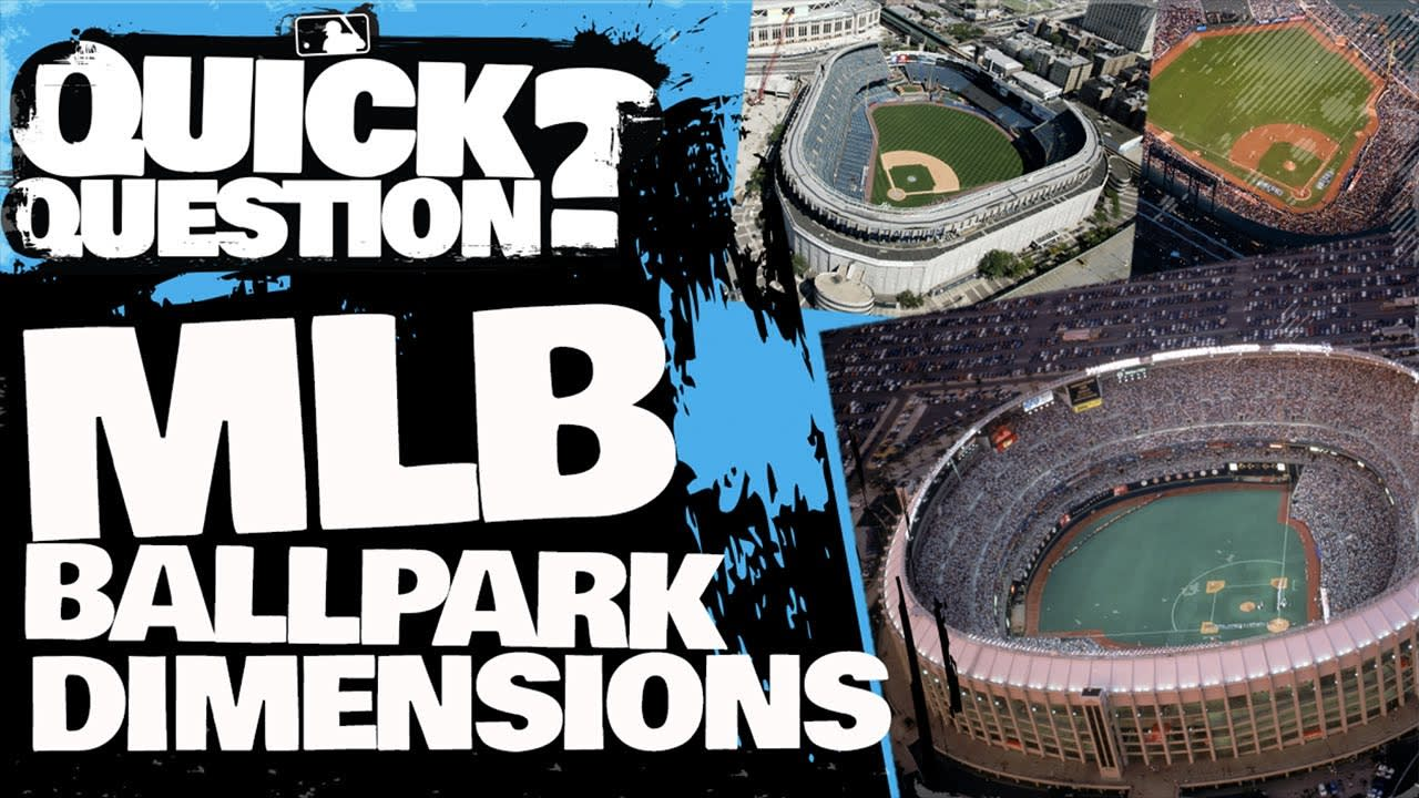 Why Do Ballparks Have Different Dimensions   Quick Question