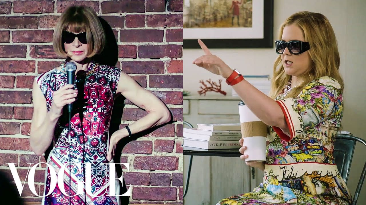 Amy Schumer and Anna Wintour Swap Lives